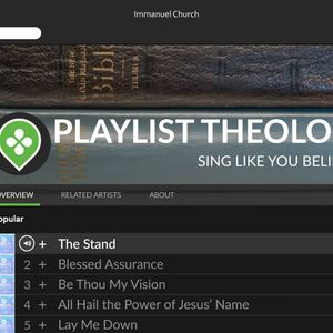 Playlist Theology: All Hail The Power of Jesus' Name (8/14/16)