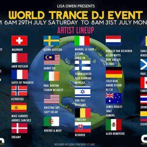 World Trance DJ Event 2017 Guestmix @ ah.fm 2017/07/29