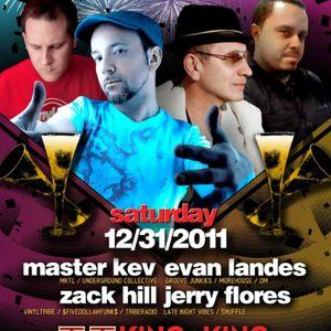 Jerry Flores - Live at West Coast Soul - (King King) - December 31, 2011