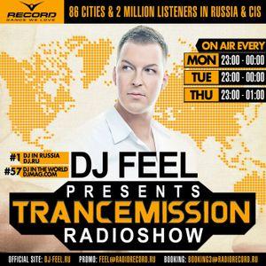 DJ Feel - TranceMission (09-07-2012)