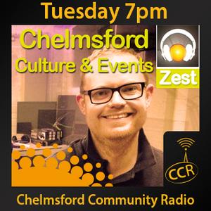 Zest - @ZestChelmsford - Matt Willis - 12/05/15 - Chelmsford Community Radio