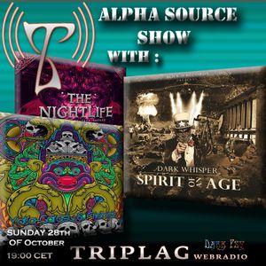 Alpha Source Show (1012) Horrordelic Records, Dark Whisper