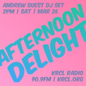 Afternoon Delight March 26, 2016