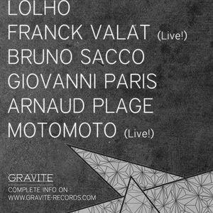 Bruno Sacco @ Gravite Label Night 21-06-2012 Paris