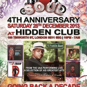 DJ SET: Sy Sez @ We Love Soul / 4th Anniversary
