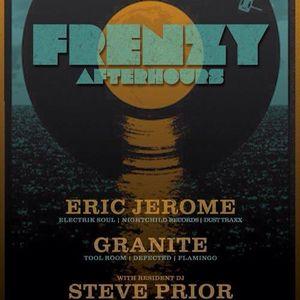 ERIC JEROME - LIVE @ AVALON [FRENZY AFTERHOURS] DECEMBER 21, 2012