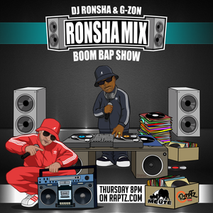 DJ RONSHA & G-ZON - Ronsha Mix #142 (New Hip-Hop Boom Bap Only)
