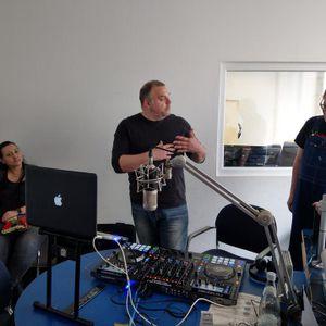 "Charles McThorn live at ""Radio Neckar Ultra Dance"", Freies Radio Stuttgart, 07 April 2019"