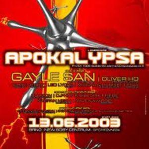 Oliver Ho @ Apokalypsa 15 (13.06.2003)