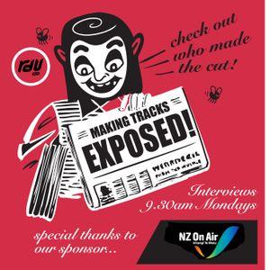 RDU 98.5FM Making Tracks Exposed Episode 21 - Marlon Williams & Delaney Davidson 'Blood Letter'