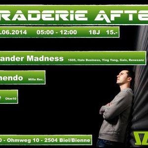 Alexander Madness - After Braderie @ Ohm10, Swiss (29.6.2014)