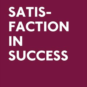11 Feb 2013 - Olly Knight: Satisfaction in Success (Events Week Lunchtime Lecture)