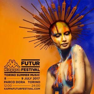 Seth Troxler B2B The Martinez Brothers - live at Kappa Futur Festival 2017 (Turin, Italy) - 08-Jul