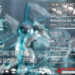 RADIOACTIVO DJ 13-2018 BY CARLOS VILLANUEVA