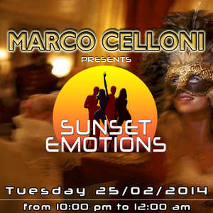 SUNSET EMOTIONS 76.3 (25/02/2014)