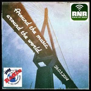 Around the music-around the world 26-03-2014 Rimini Net Radio