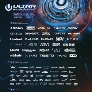 Ultra Music Festival 2016 Miami - Elio Riso - Resistance Stage - Day 3 (20.03.16)