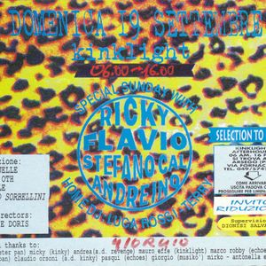 Ricky Montanari @ KinkLight (Afterhours), Arsego PD - 19.09.1993