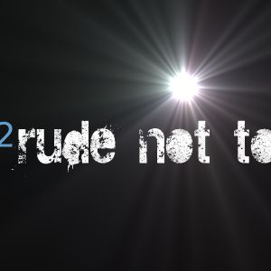 Rude not too June 2011 - Toe Tapping Techno!
