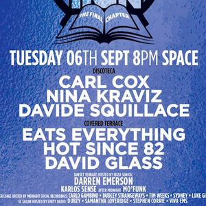 Live From Music Is Revolution @ Space Ibiza - El Salon (06.09.2016)