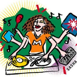 DJette Flashfunk live show on radio lora 270615 part 1 of 2
