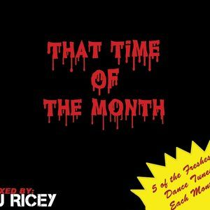That Time Of The Month | October 2010 mixed by DJ Ricey