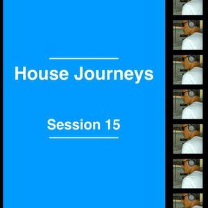 "Sergio Martínez presents ""House Journeys"" - Session 15 - January 24, 2014."