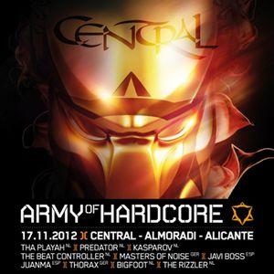 Army of hardcore 2012 (Spain) warm-up mix by DJ Bigfoot