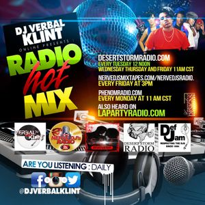 THE DJ VERBALKLINT MIX SHOW VOL 25