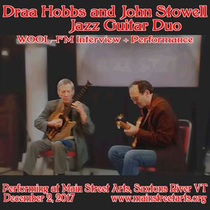 Draa Hobbs and John Stowell In-Studio