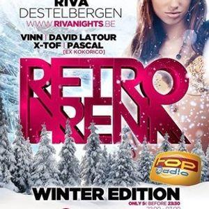 dj David Latour @ Club Riva - Retro Arena 18-01-2014