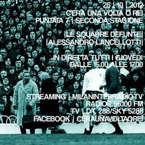 """Stagione 2. Puntata 7. """"Squadre Defunte di Istria e Dalmazia"""" con Alessandro Lancellotti."""