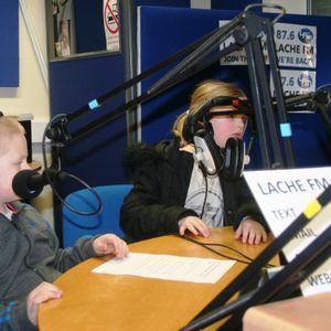 Jasmine, Georgia and Kai on Lache FM - 27th February 2013