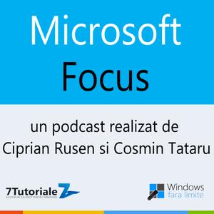 "Podcast ""Microsoft Focus"" - ep. 8 - 03.09.2014"