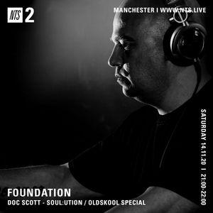 Foundation presents Doc Scott - Soul:ution / Oldskool Special - 14th November 2020