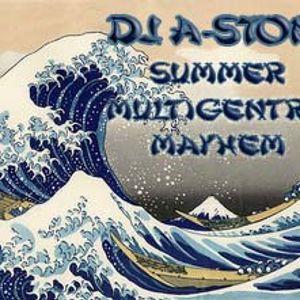 DJ A-Ston's Summer Multigenre Mixtape