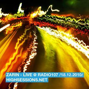 Live @ Radio 107 (FM 18.12.2010)
