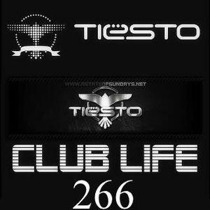 Tiesto - Club Life 266-CABLE-05-06-2012