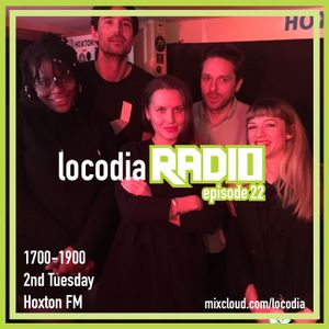 Locodia Radio #022 - The Left Rib, Nikki Cislyn, KAS-tro
