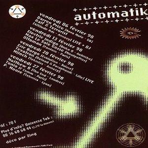 Terrorist @ Automatik - Rex Club Paris - 06.02.1998