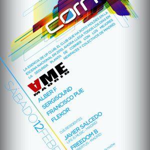 Flekor - Live @ AME Madrid Showcase (Corner_Madrid) (12-02-2011)