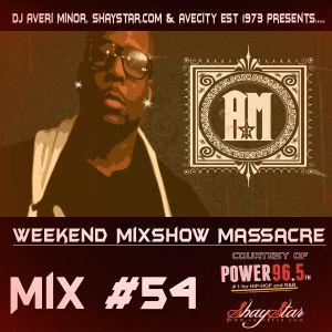 DJ Averi Minor - Weekend Mixshow Massacre #54 (Power 96.5FM)
