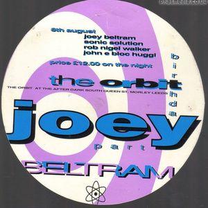 Joey Beltram at The Orbit (Leeds - UK) - 8 August 1992