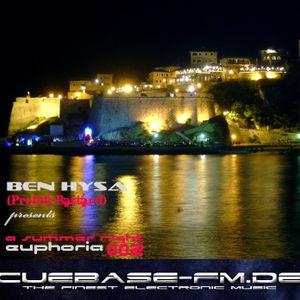 A Summer Night Euphoria 002 on CUEBASE.FM (July2011)