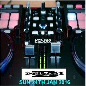 NIGEL B SHOW ON SUPREME FM (SUN 24TH JAN 2016)