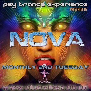 Psytrance Experience hosted by Nova on www.clubvibez.co.uk 8-12-15 Guest Mix - Z-Cat