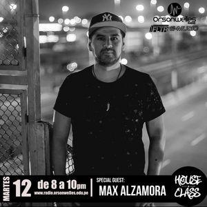 House Class Radio Show con Max Alzamora