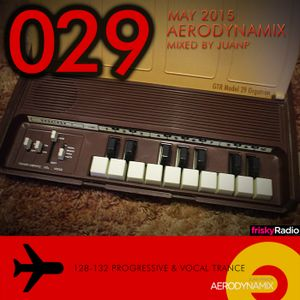 Aerodynamix 029 @ Frisky Radio May 2015 mixed by JuanP