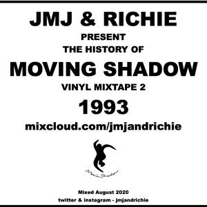 History Of Moving Shadow vinyl mixtape 1993