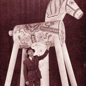 Den ökända hästen från Troja: Yttrandefrihetens hjältar i Sverige under andra världskriget